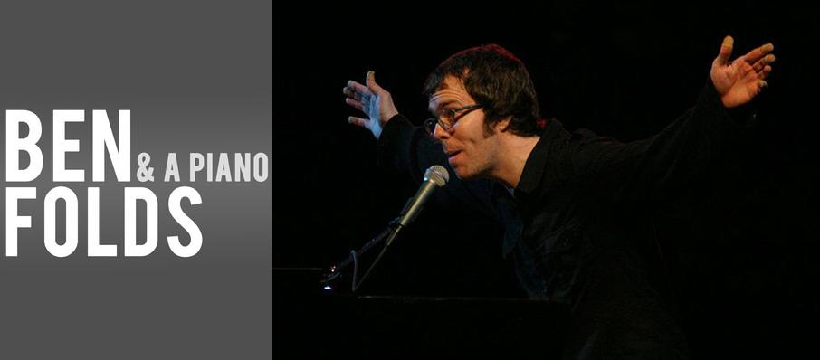 Ben Folds at Silva Concert Hall