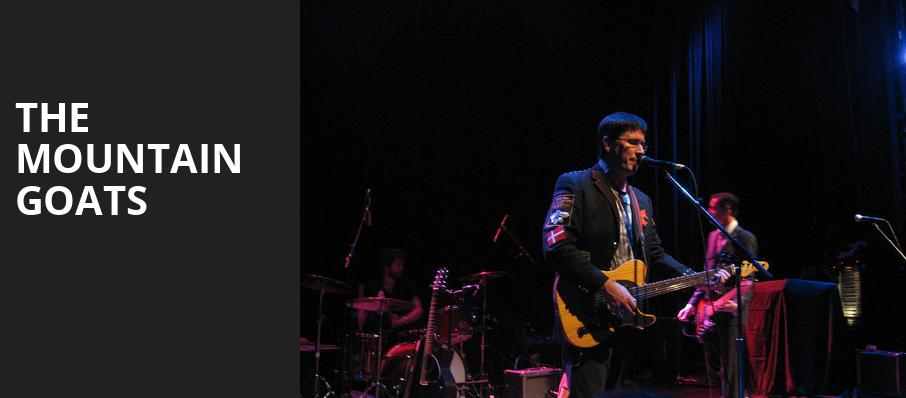The Mountain Goats, Mcdonald Theatre, Eugene