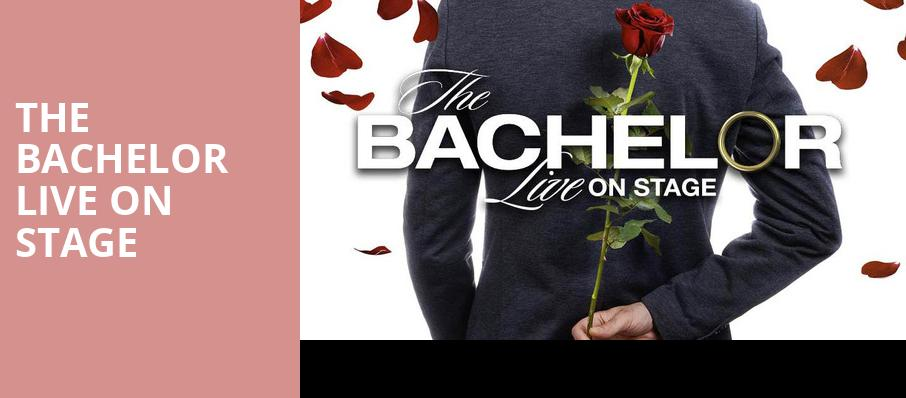 The Bachelor Live On Stage, Silva Concert Hall, Eugene